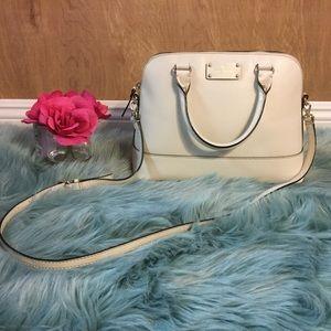 💎Kate spade cream satchel